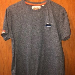 vintage superdry outdoor supply athletic shirt